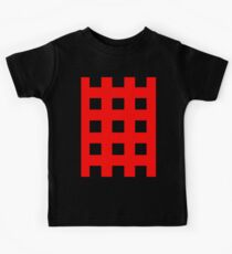 Red And Black Crosses Kids Clothes