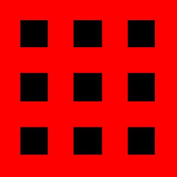 Red And Black Crosses by rawrclothing