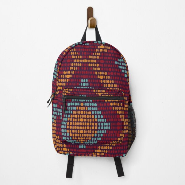Repeat the cold chevron seamless pattern Backpack