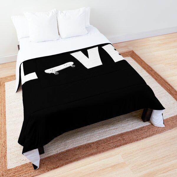 Skateboard Love Shirt , Gift For Skateboards Lovers  Comforter