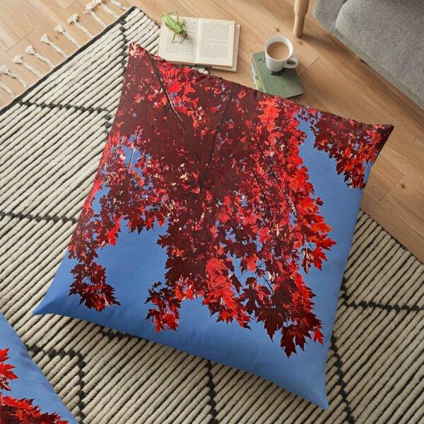 Canadian Maple Floor Pillow