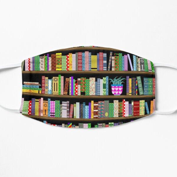 On the Shelves Flat Mask