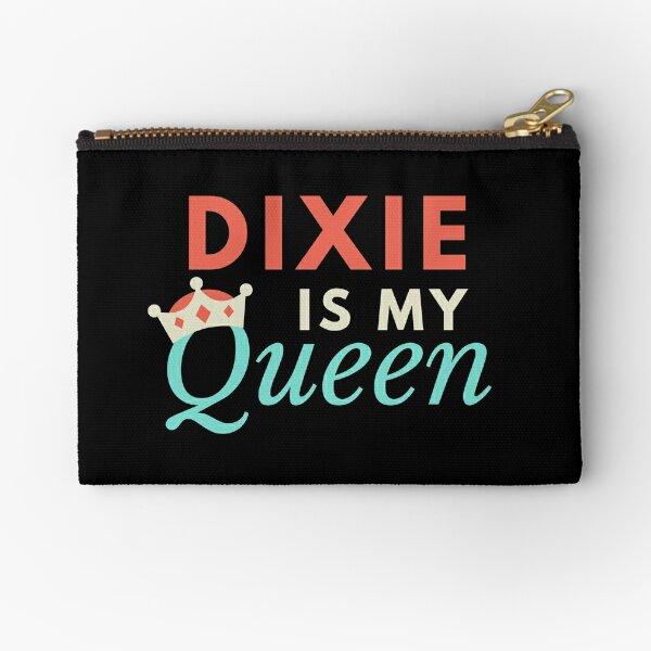 Dixie is my Queen Zipper Pouch
