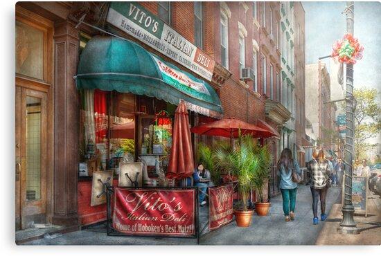 Cafe - Hoboken, NJ - Vito's Italian Deli  by Mike  Savad