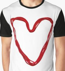 heart from red rope Graphic T-Shirt