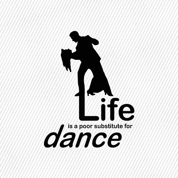 Dance v Life - Pink by RonMarton