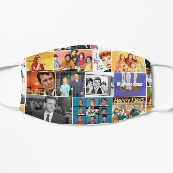 60's TV shows,  70's TV shows, Flat Mask