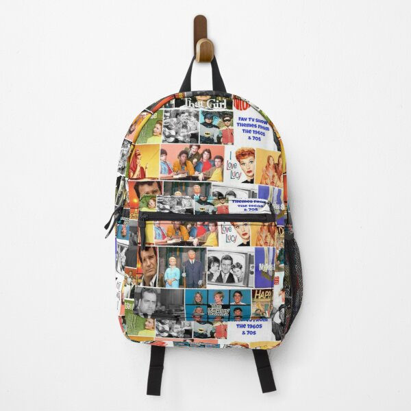 60's TV shows,  70's TV shows, Backpack