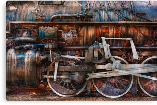 Train - With age comes beauty  by Michael Savad