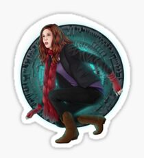 Amy and the Pandorica (Doctor Who) Sticker