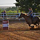 Barrel Racing by Kristen O'Brian