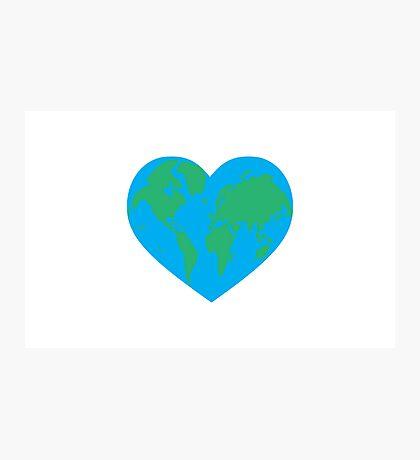 Earth Love Photographic Print