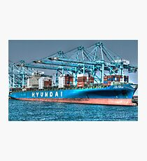 Hyundai Shipping Photographic Print