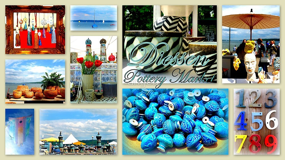 Diessen Pottery Market by ©The Creative  Minds