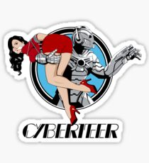 Cyberteer Sticker