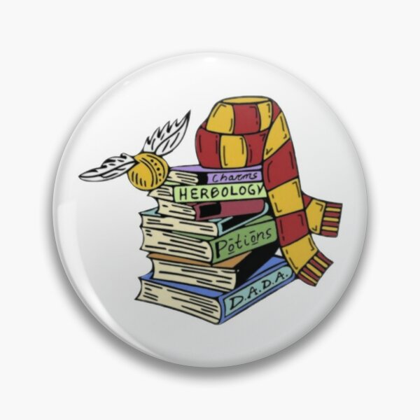Magical books collection with scarf  Pin