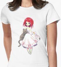 Summer Evening Womens Fitted T-Shirt