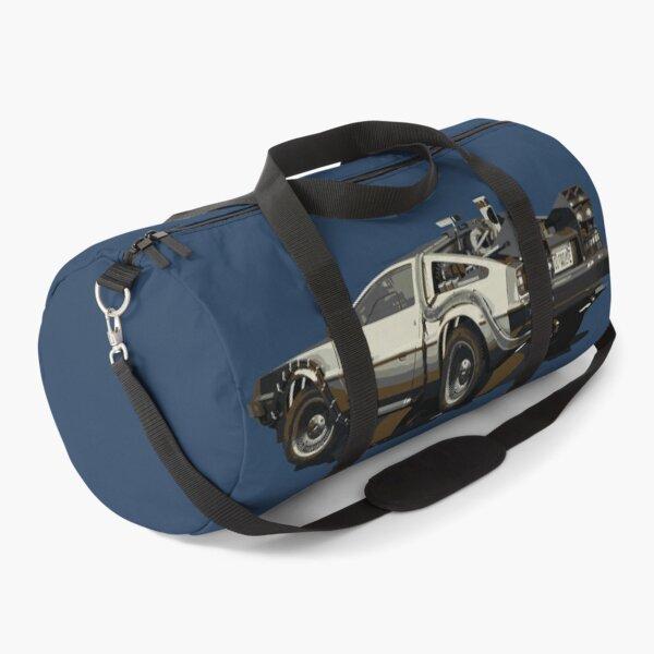 Back to the future Delorean Brown | Car | Cult Movie Duffle Bag
