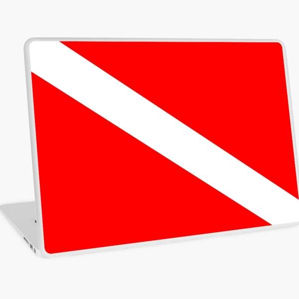 Diver Down Flag Laptop Skin