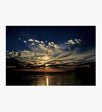 Rota Sunset Heaven Photographic Print