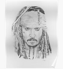 Johnny Depp as Captain Jack Poster