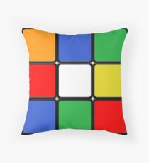 The Cube Throw Pillow