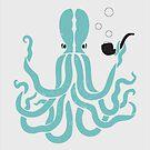 Mr Dapper Octopus by Natasha Curran