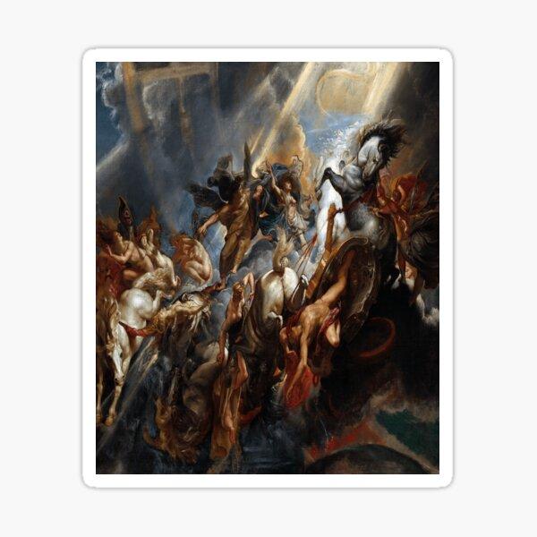 The Fall of Phaeton by Peter Paul Rubens Sticker