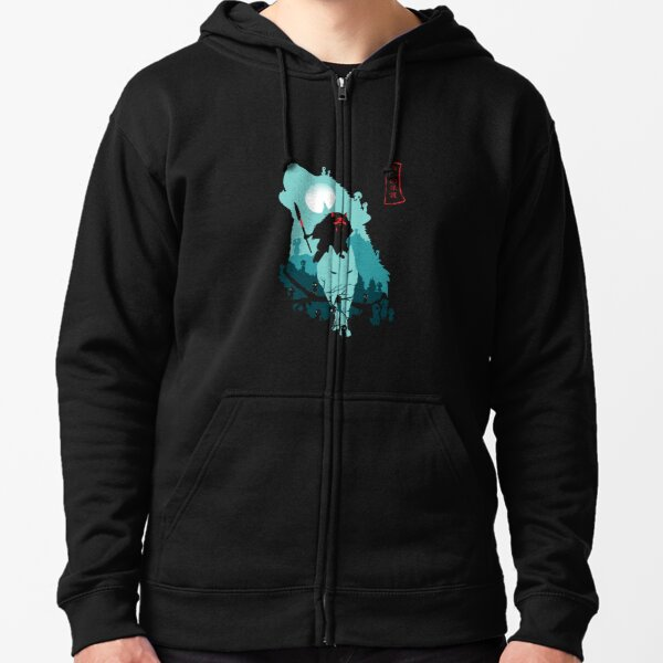 The Forest Protrectress Zipped Hoodie