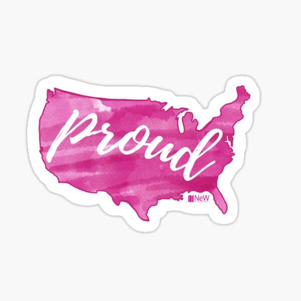 Proud America Sticker
