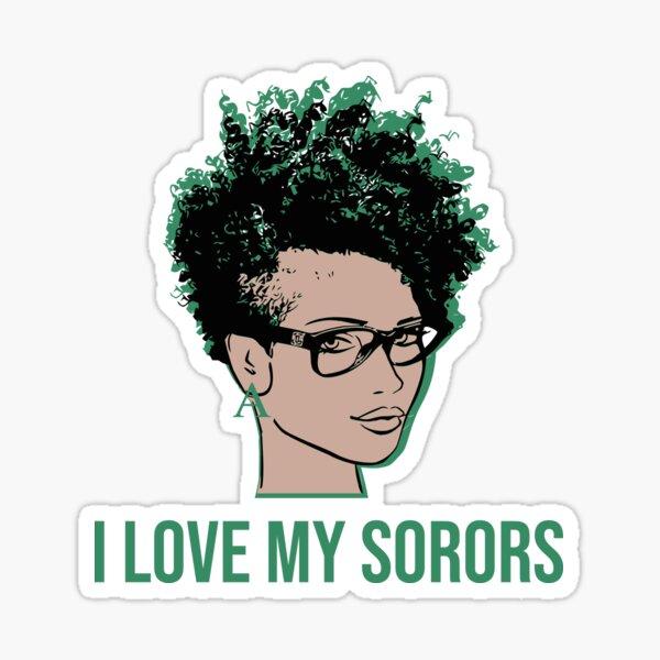 I Love My Sorors Alpha Light Sticker