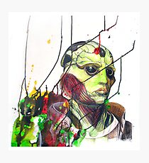 Thane Krios Mass Effect Portrait Photographic Print