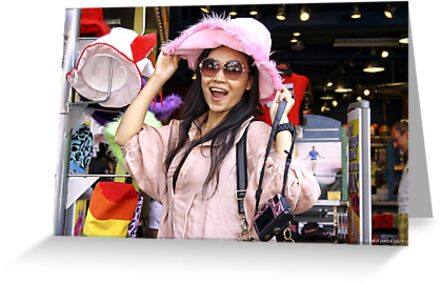 Vivi in the Pink Hat by Mikell Herrick
