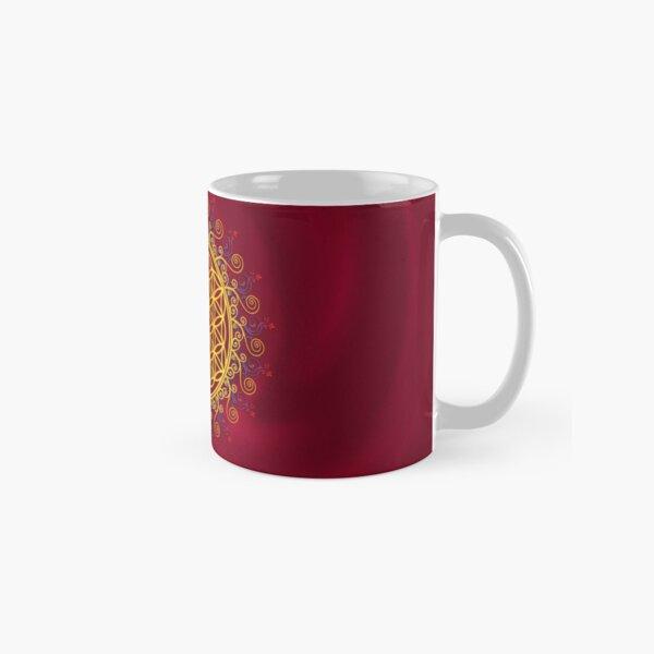 FLOWER OF LIFE, CHAKRAS, SPIRITUALITY, YOGA, ZEN,  Classic Mug