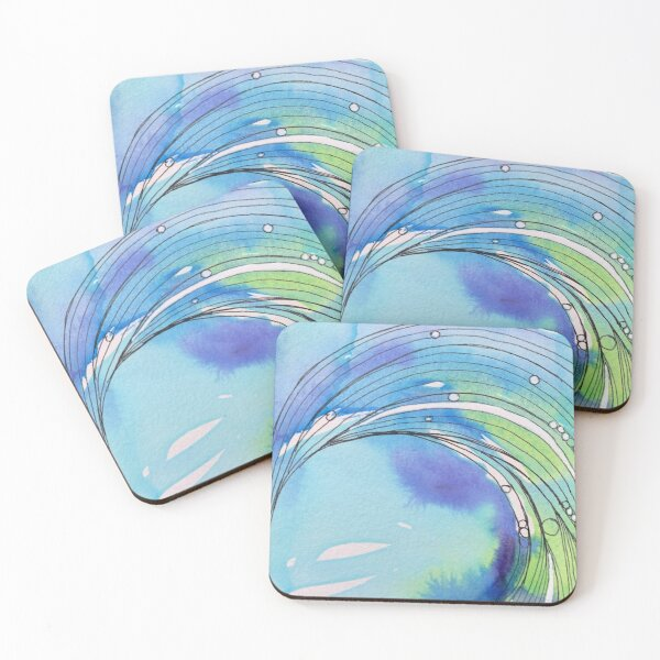 The Wave Coasters (Set of 4)