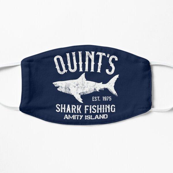 Quint's Shark Fishing - Amity Island 1975 Flat Mask