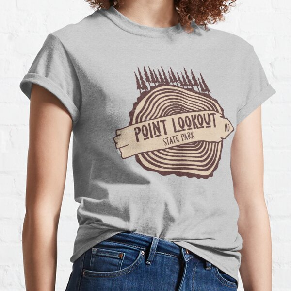 Point Lookout State Park Maryland MD Parks Tree and Forest Classic T-Shirt