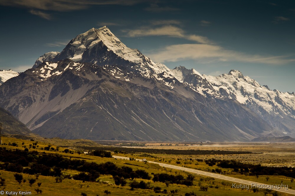 Mt. Cook, New Zealand by Kutay Photography