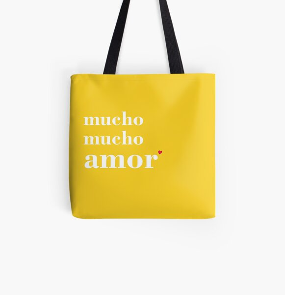Mucho Mucho Amor All Over Print Tote Bag