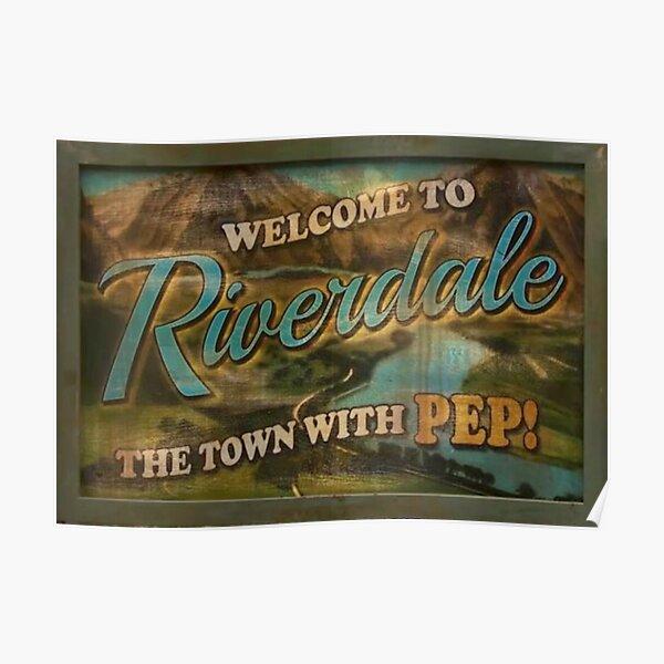 Signe de la ville de Riverdale Poster