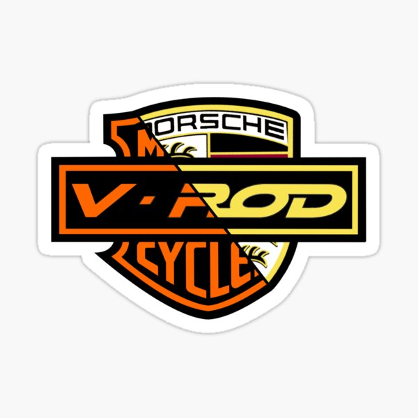 Two Souls V Rod Sticker