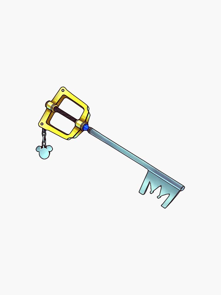 kingdom hearts keyblade by alcoholinfused