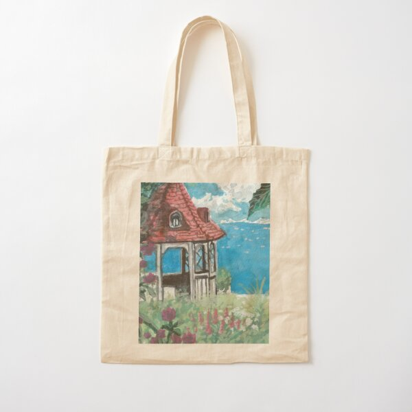 Ghibli redessine la scène Tote bag classique