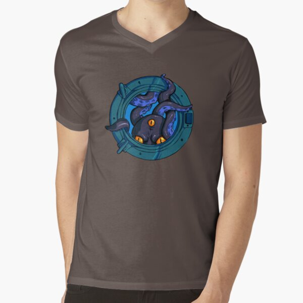 Porthole Monster V-Neck T-Shirt