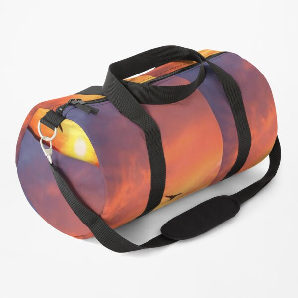 Sunrise Boards painting pictures quotes background wallpaper beach Duffle Bag