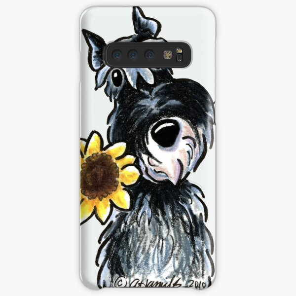 Sunny Schnauzer Samsung Galaxy Snap Case