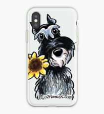 Sunny Schnauzer iPhone Case