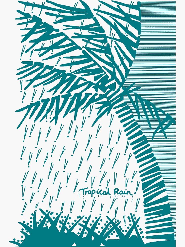 Tropical Rain Cuba Aqua by hoxtonboy
