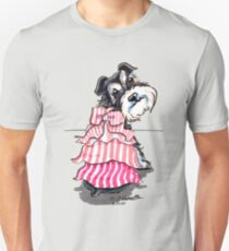Girly Schnauzer T-Shirt