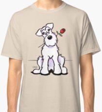 White Schnauzer Sweetheart Classic T-Shirt